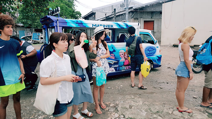 Jeepney,準備跳島