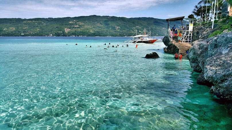 菲律賓,宿霧島,美麗島嶼,Sumilon Island