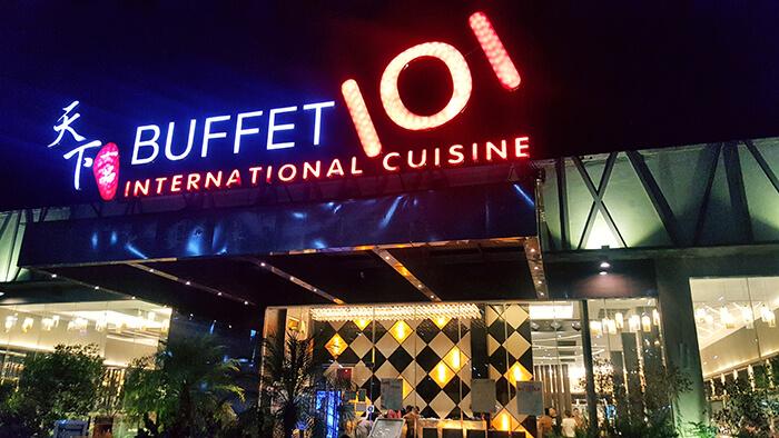 buffet101-宿霧吃到飽餐廳
