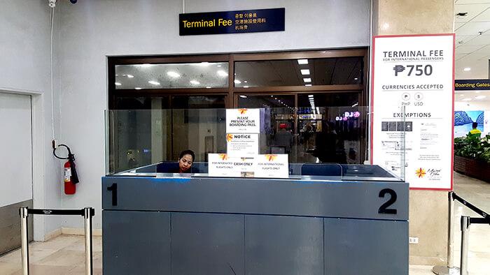 宿務機場稅 750披索