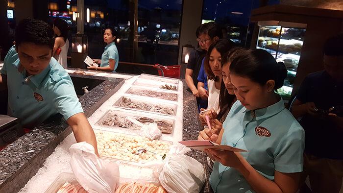 海鮮吃到飽餐廳-cebu