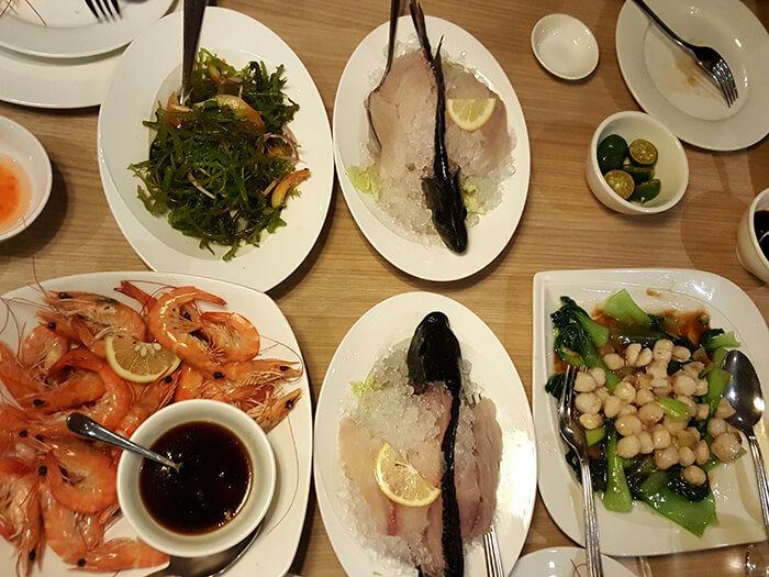 宿霧海鮮吃到飽-Seafood