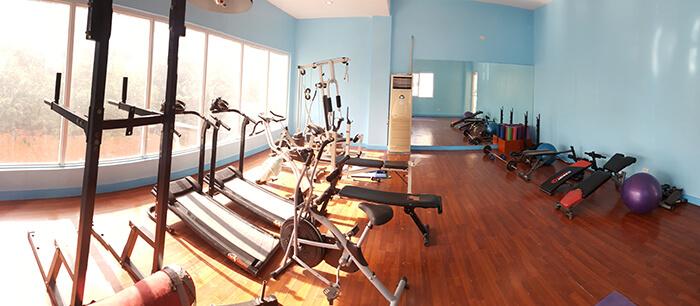 EV語言學校-健身房