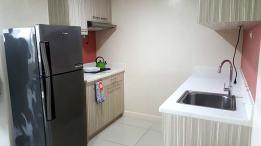 Alicia Apartelle 房間廚房