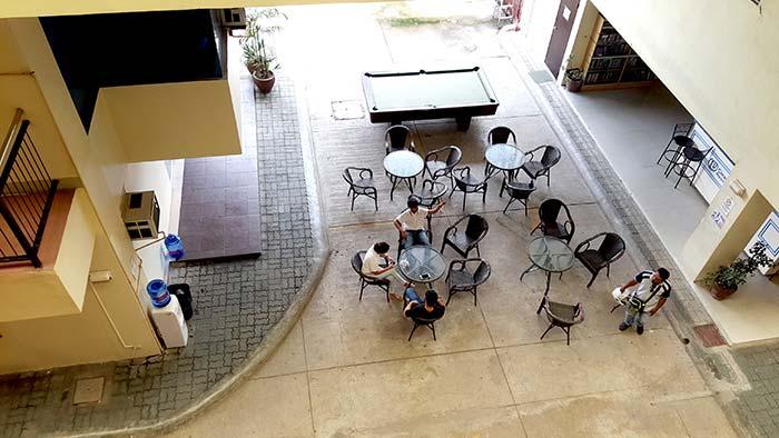CELI 飯店, 學生住宿, 公共區域