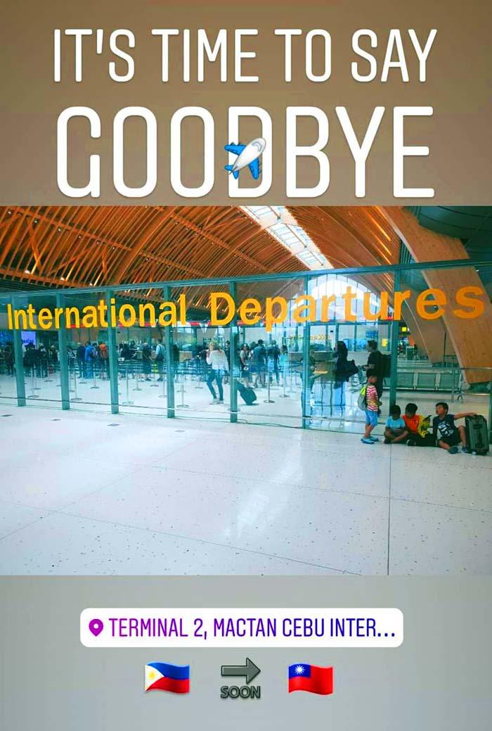 International Departures, 宿霧機場離境