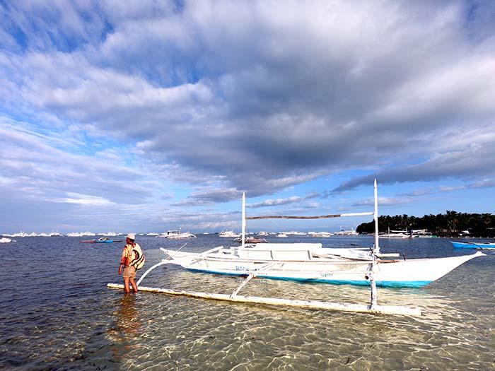 菲律賓, 跳島, 藍海, 螃蟹船