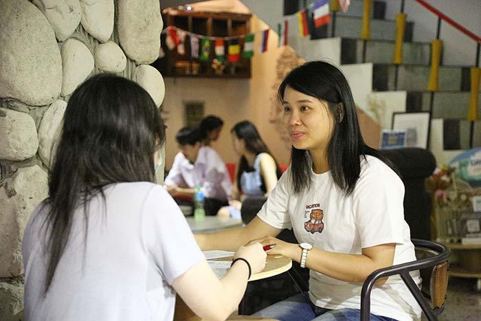 下班進修課程, 英文常用口語交新朋友