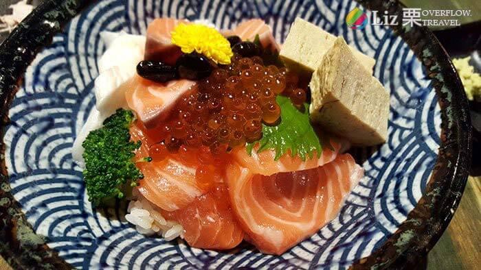 鮭魚親子丼, 台北富春食堂, 台北日本料理推薦