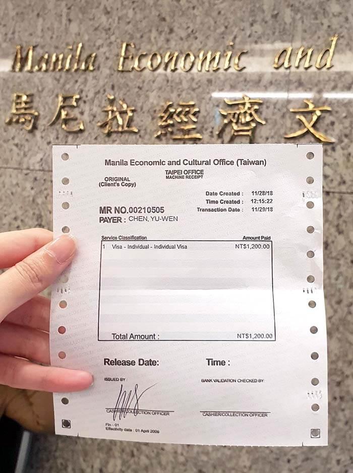 菲律賓紙本簽證教學 , 台北辦理菲律賓簽證, 如何辦理菲律賓簽證