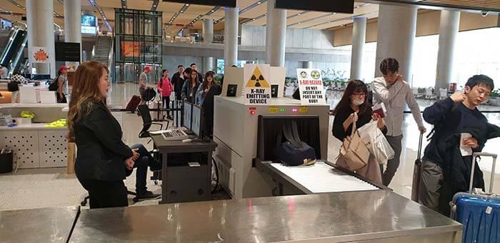 宿霧國際機場過海關, 填寫範例, 注意事項