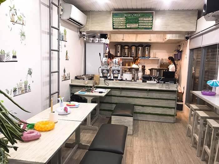 台灣人開立的珍珠奶茶店