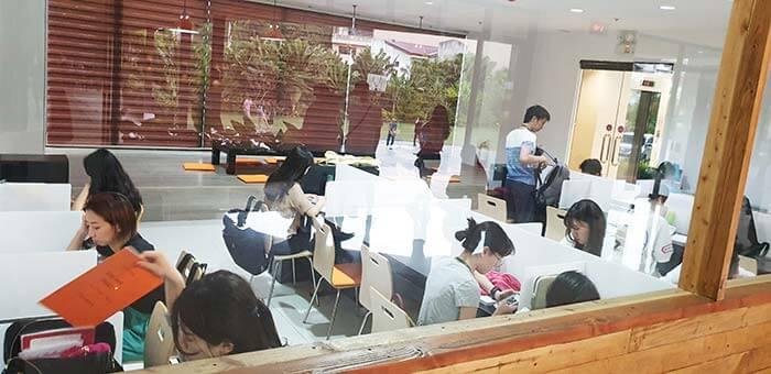 EV自習教室, 考試教室