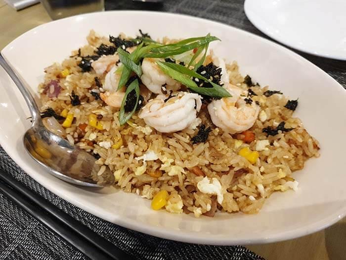 Wok餐廳菜色, Menu