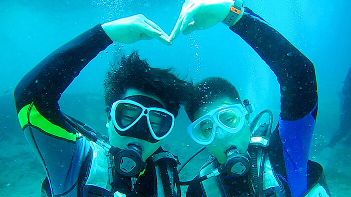 宿霧潛水體驗, 宿霧體驗潛水, 潛水考照課程